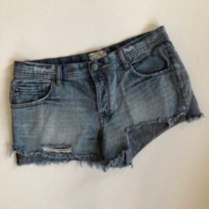 [free people] cut off denim shorts